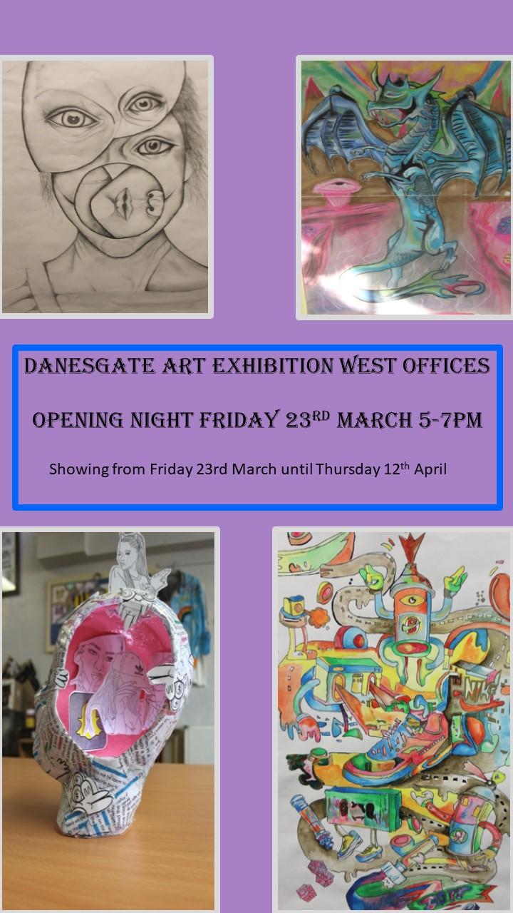 Danesgate Art Exhibition Opening Night